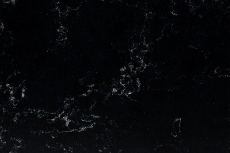 Кварцевый агломерат Technistone Crystal Misty Black