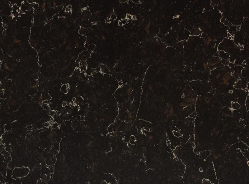 Кварцевый агломерат Vicostone Java Noir BQ-8812