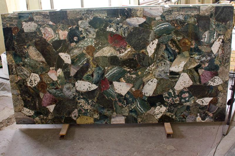 Полудрагоценный камень Океан Джаспер (Ocean Jasper)
