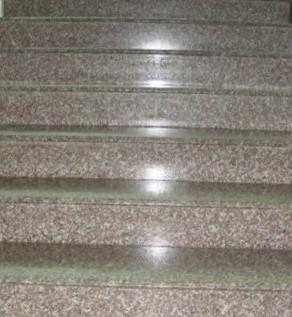 лестница гранит G664