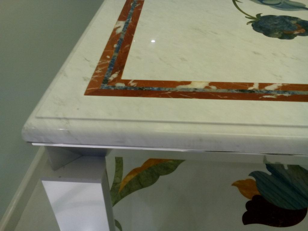 полировка мрамора столешница
