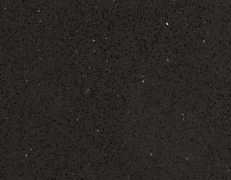 Кварцевый агломерат HanStone Obsidian Black
