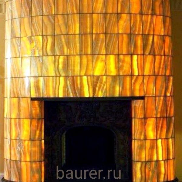камин оникс с подсветкой
