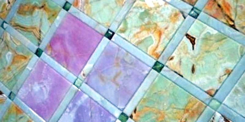 Мозаика из камня. Мозаичные полы.