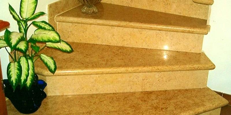 Каменная лестница мрамор Sunny Dark