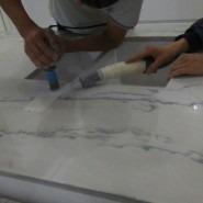 Столешница агломерат Calacata Brasil